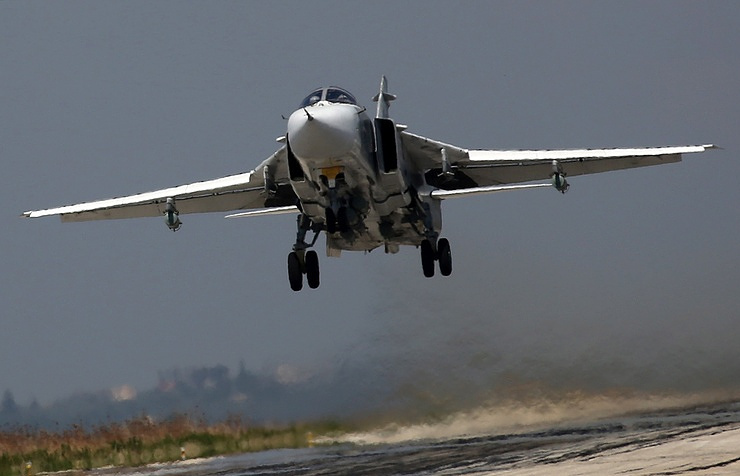 Russian air force strike injures Syrian terrorist group leader