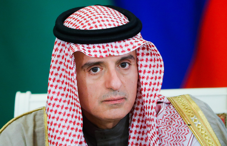 Saudi Arabia's Foreign Minister Adel bin Ahmed Al-Jubeir