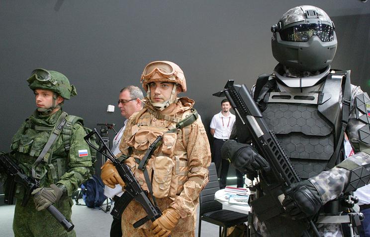 Ratnik combat gear