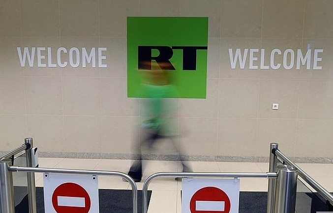Russian parliament mulls response to U.S. move on RT