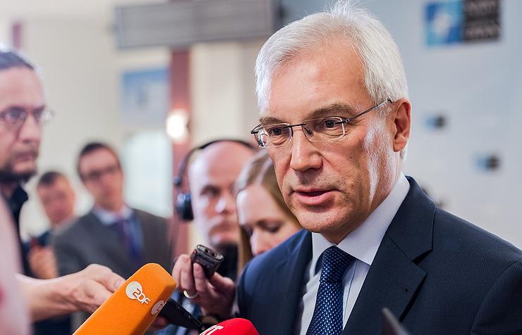 Russia's NATO envoy, Alexander Grushko