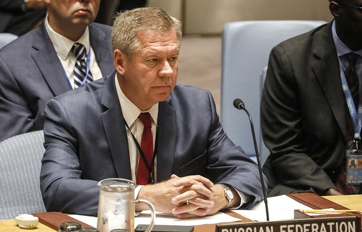 Russian Deputy Foreign Minister Gennady Gatilov