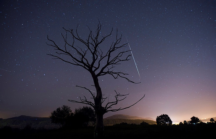 Meteor spectacle on offer on this weekend