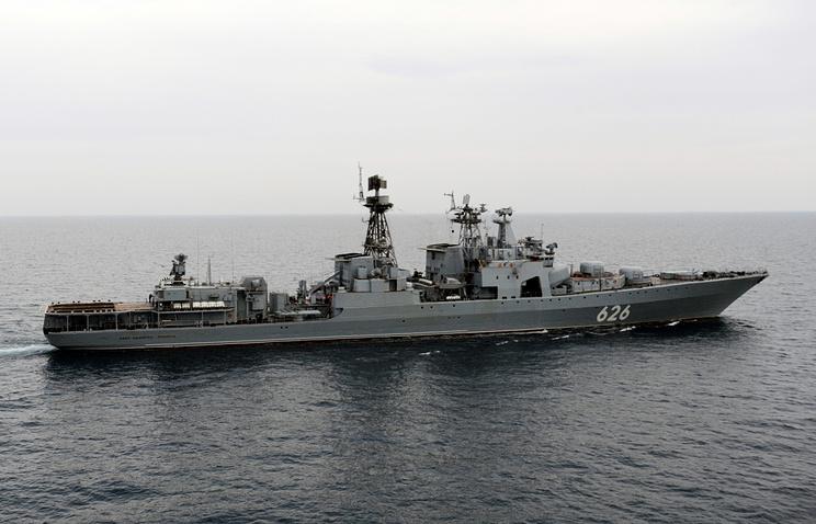 Vice-Admiral Kulakov large antisubmarine warfare ship