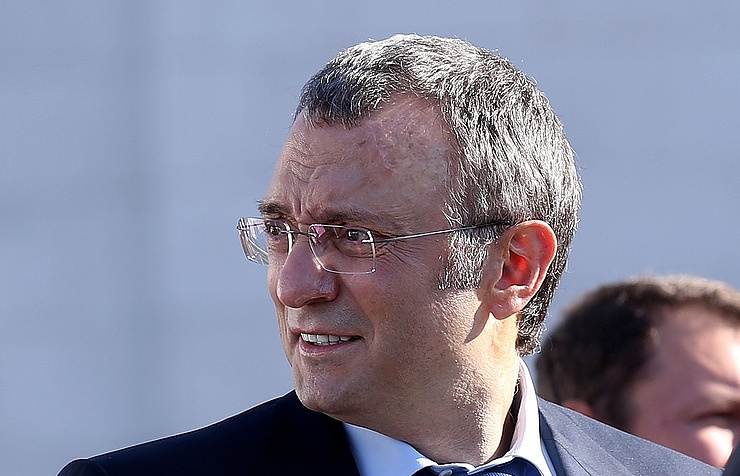 Russia's Polyus shares down on Kerimov's detention