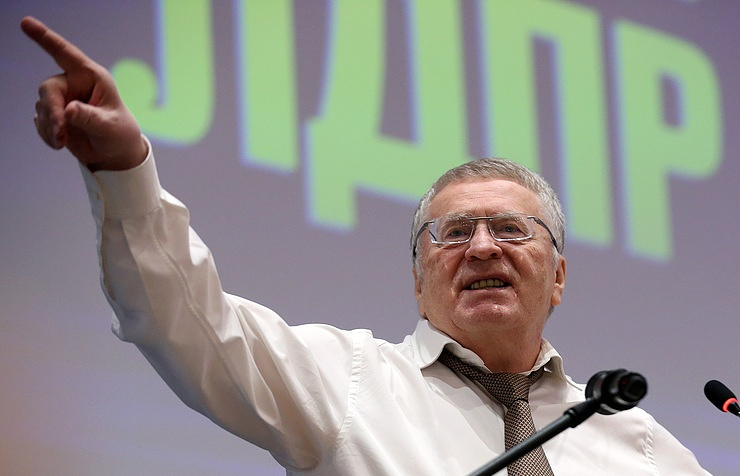 LDPR party leader Vladimir Zhirinovsky