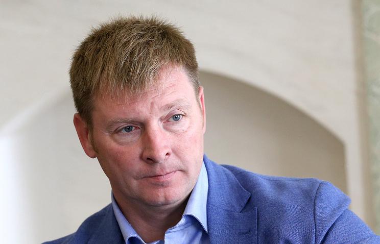 Russian Bobsleigh Federation head Alexander Zubkov
