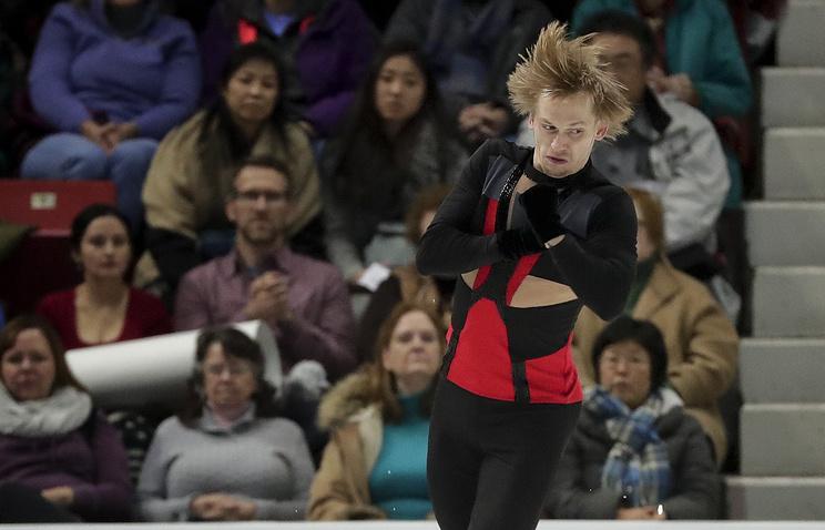 Russian figure skater Sergei Voronov