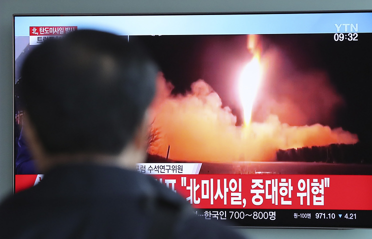 North Korean missile lands in waters off Japan's coast: Japanese PM