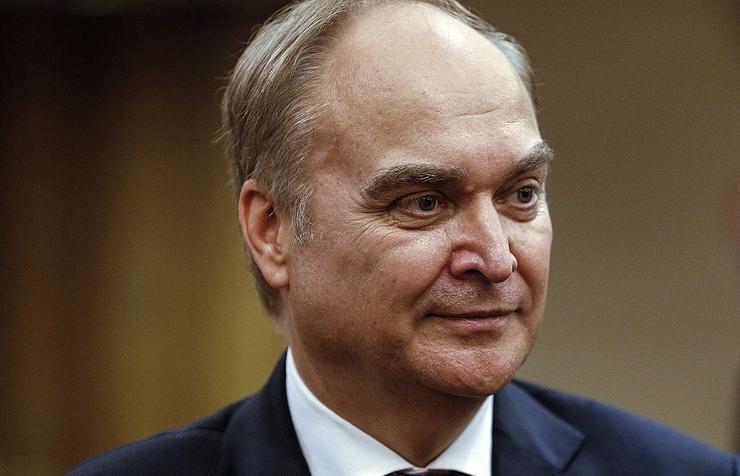 Russian Ambassador Anatoly Antonov