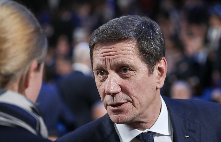 The head of Russia's Olympic Committee, Alexander Zhukov