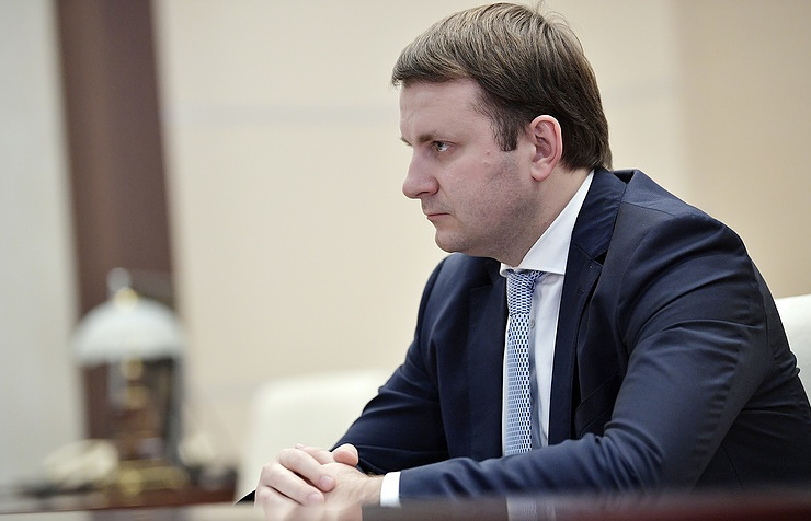 Russian Economic Development Minister Maxim Oreshkin