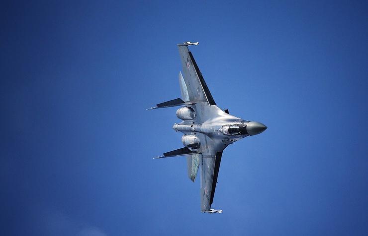 Su-35S multi-role air superiority fighter