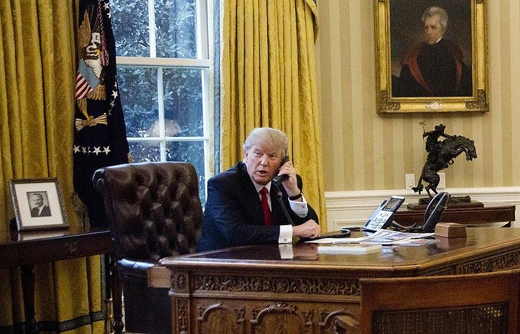 Putin praises Trump, blames 'spy mania' for meddling claims