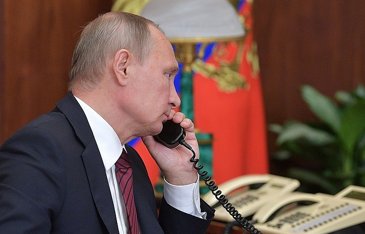 'Thank you!' Putin phones Trump after Central Intelligence Agency foils Russian Federation terror attack