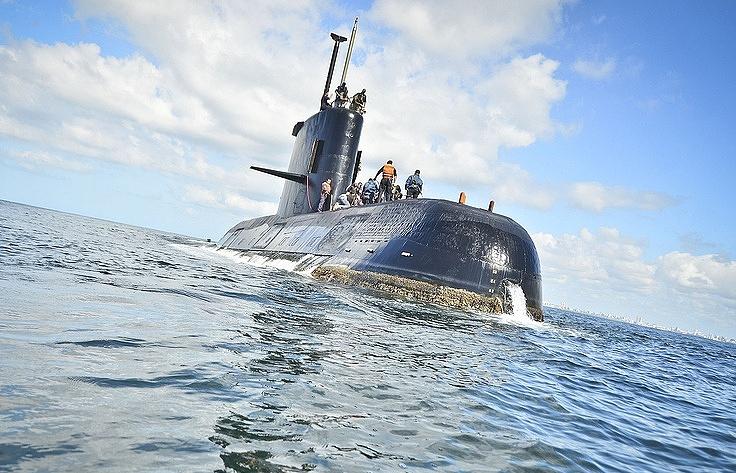 San Juan submarine
