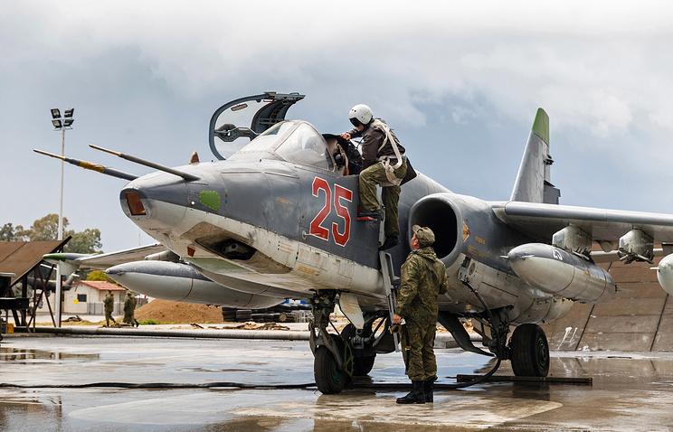 Su-25 jet