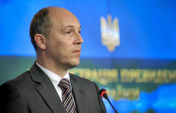Verkhovna Rada Speaker Andrey Parubiy