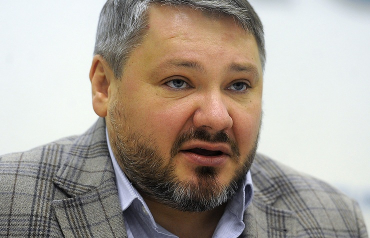 Anton Bakov, the leader of the Monarchical Party of Russia