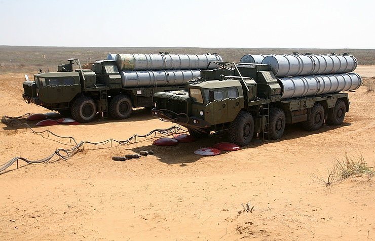 S-400 missile systems