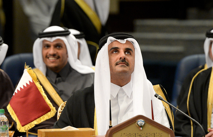 Qatari Emir Tamim bin Hamad Al Thani