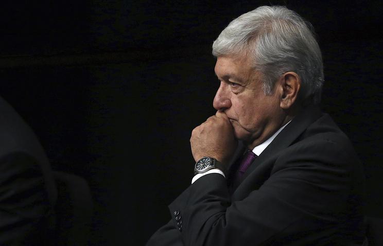 Mexican politician Andres Manuel Lopez Obrador