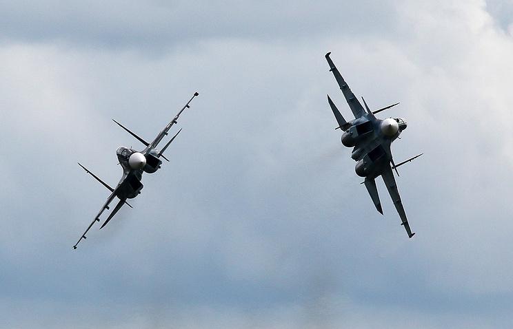 Su-30 fighter jets