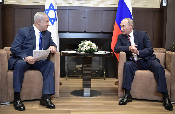 PM to Putin: We will stop Iranian entrenchment in Lebanon, Syria