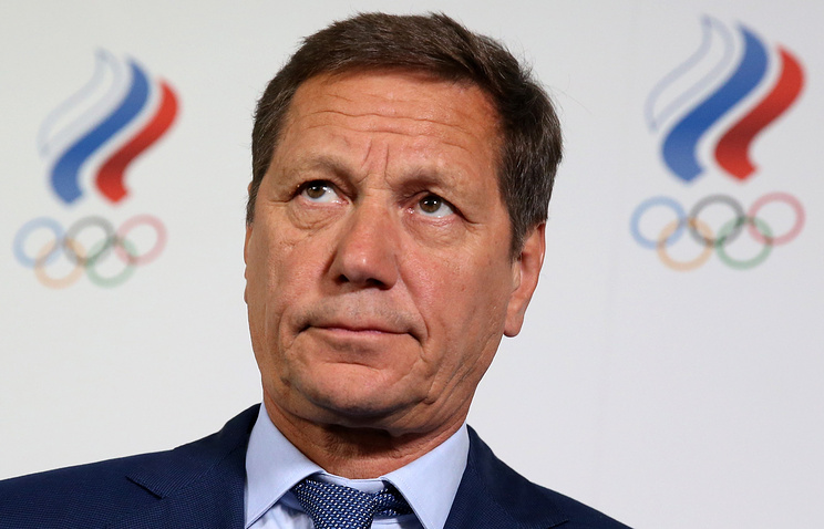 Russian Olympic committee chief Alexander Zhukov