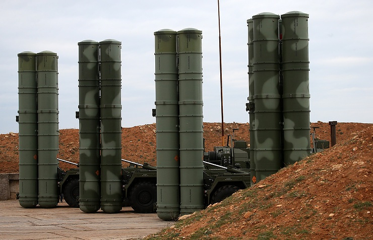 Russian Military Test Fires New Upgraded Air Defense Missile