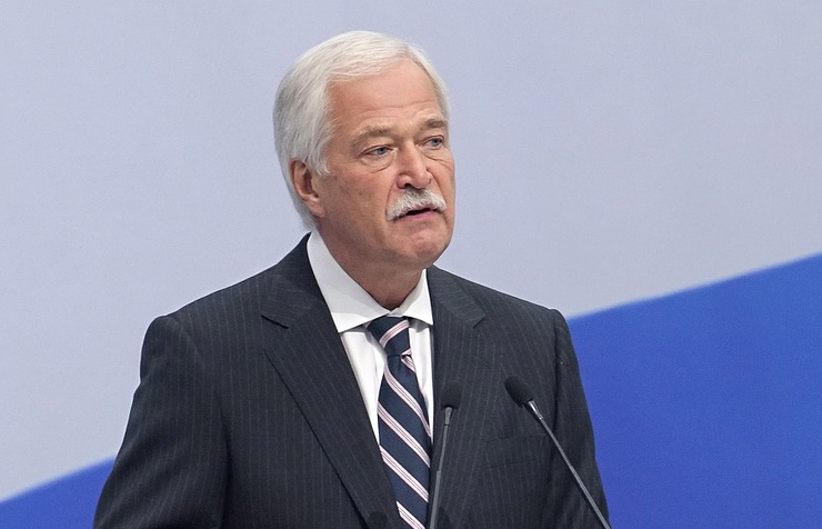 Russia's Special Representative to the Contact Group Boris Gryzlov