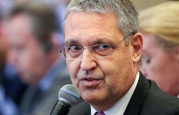 EU Ambassador to Russia Markus Ederer