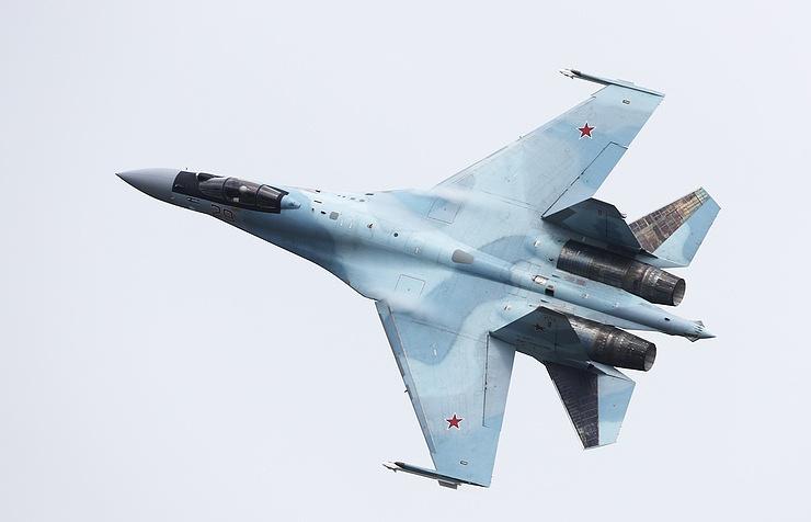 Sukhoi-35 fighter jet