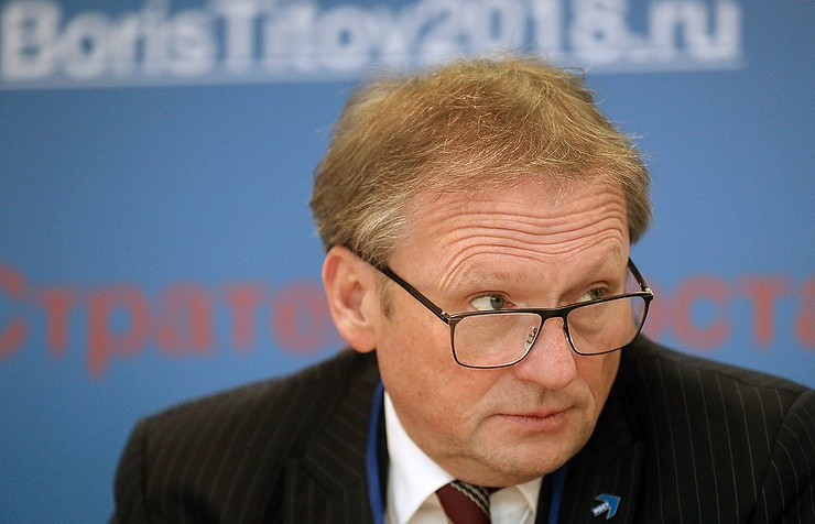 Russia's business ombudsman Boris Titov