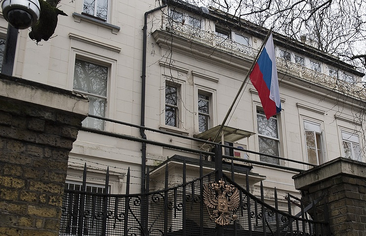 Russia's Embassy in London