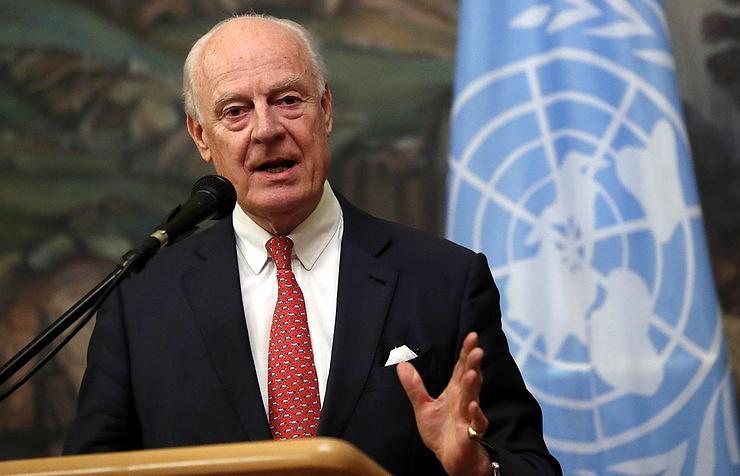 UN Special Envoy on Syria Staffan de Mistura