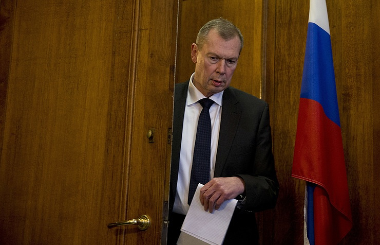 Russia's Permanent Representative to the Organization for the Prohibition of Chemical Weapons Alexander Shulgin