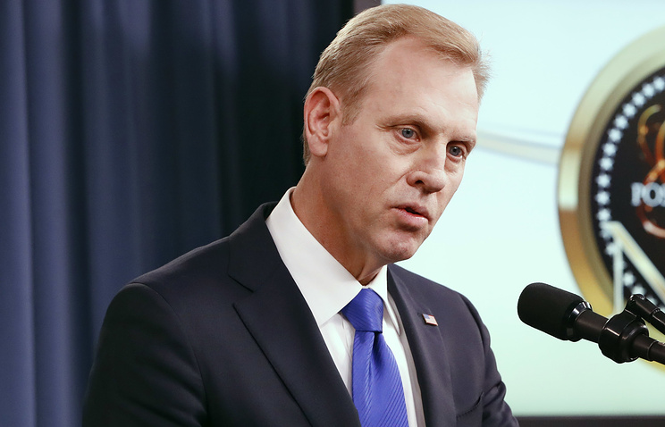 US Deputy Secretary of Defense Patrick Shanahan