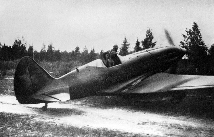 MiG-3 fighter jet, 1944