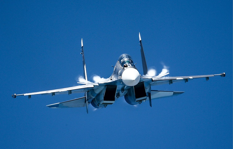 Russia's Su-30 fighter aircraft crashes into Mediterranean Sea in Syria