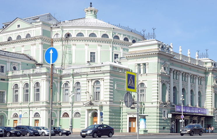 Mariinsky theater in St. Petersburg