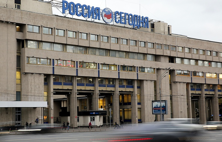 Russian international news agency Rossiya Segodnya