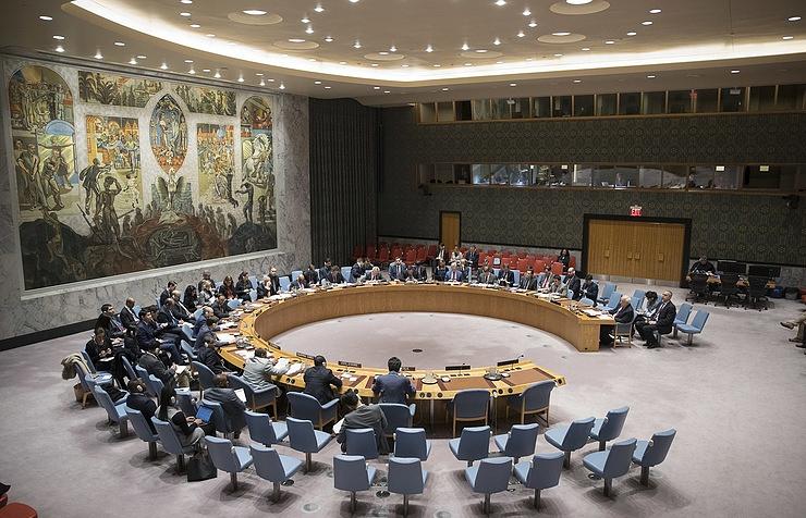 A UN Security Council session