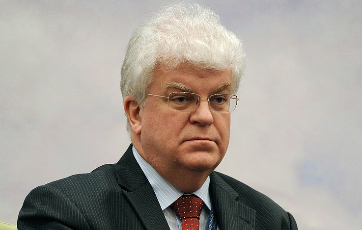 Russia's Permanent Representative to the EU Vladimir Chizhov