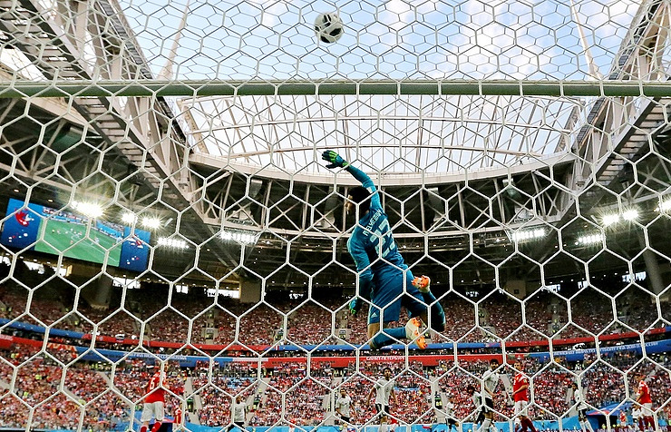 Record number of set-piece goals scored at World Cup