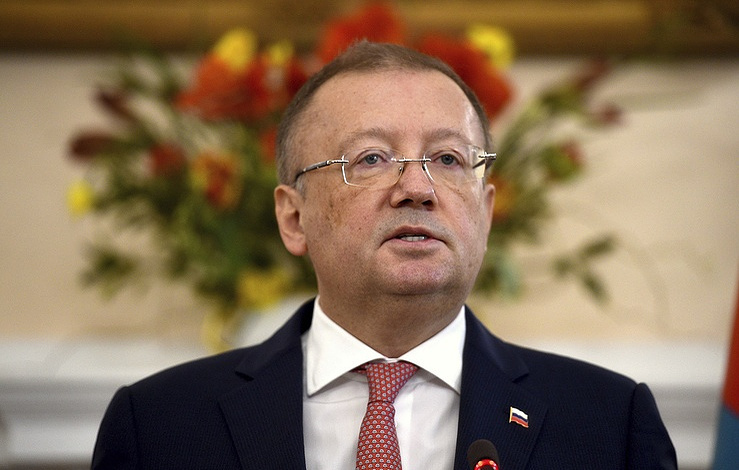 Russia's Ambassador to London Alexander Yakovenko