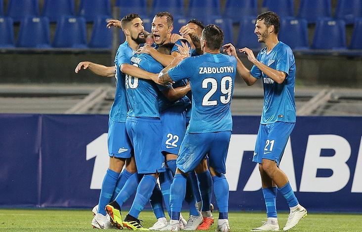 Zenit footballers