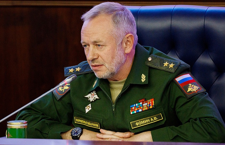 ussian First Deputy Defense Minister Col. Gen. Alexander Fomin