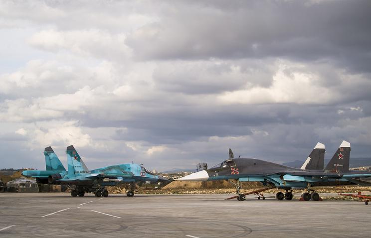 Sukhoi-34 planes