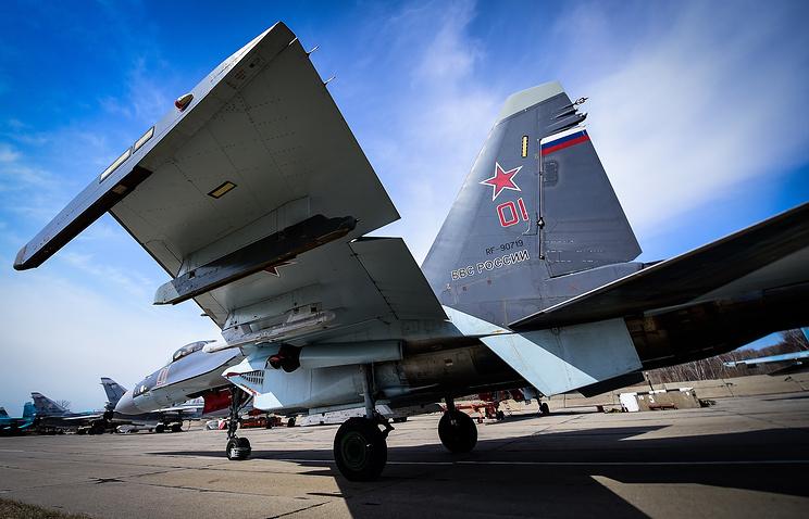 Sukhoi-35 fighter